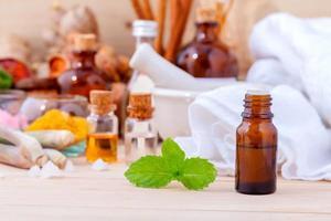 óleos de aromaterapia para tratamento de spa