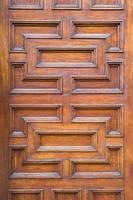 porta de madeira velha vintage foto