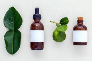 óleo de aromaterapia de limão kaffir