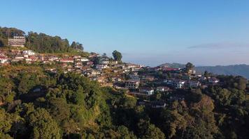 aldeia phahee, chiang rai, tailândia