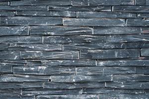 parede de pedra preta envelhecida