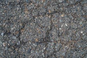 textura de asfalto de estrada velha foto