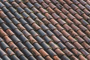 telhado de terracota tradicional