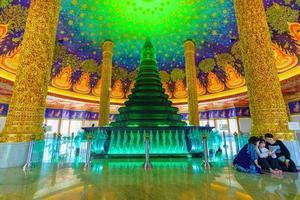 templo real budista na tailândia foto