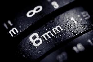 Lente de câmera digital 8mm