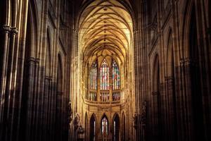 st. catedral vitus em praga, república checa foto