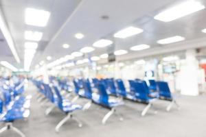 fundo borrado abstrato do aeroporto foto