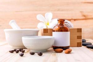 itens de tratamento de aromaterapia