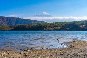 mt. Fuji em Yamanashi, Japão foto
