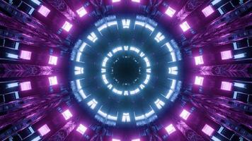 ilustração 3d colorida neon colorida arte design foto