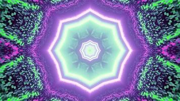 Ilustração 3D do padrão gráfico geométrico abstrato foto