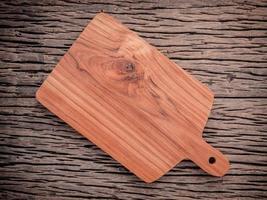 tábua de corte de madeira de teca
