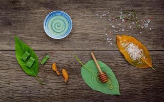 esfoliante orgânico para a pele
