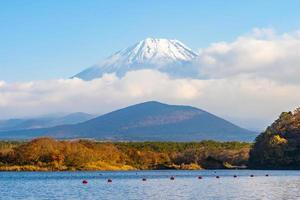 paisagem em mt. fuji, yamanashi, japão foto