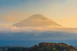 paisagem em mt. fuji, yamanashi, japão