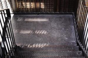 grande escada industrial