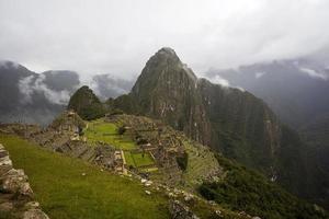 Ruínas de Machu Picchu no Peru