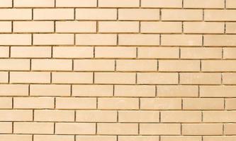 textura de tijolo marrom claro foto