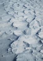 textura de neve no chão