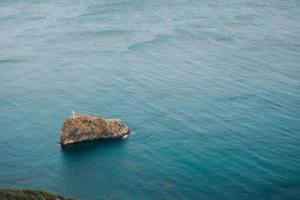 as montanhas de Cape Fiolent na Crimeia