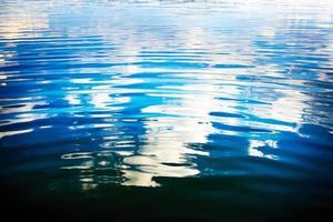 reflexo do céu na água foto