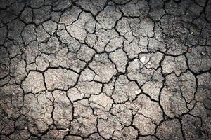 argila seca desgastada