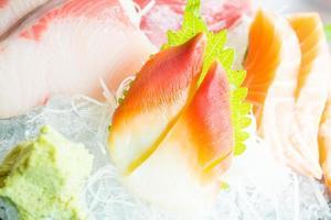sashimi fresco cru foto