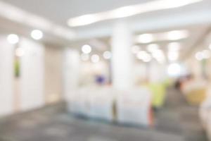 desfocar interior de hospital e clínica foto