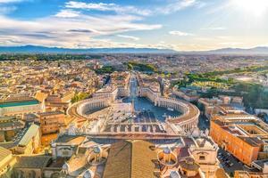 praça de são pedro em vaticano, roma