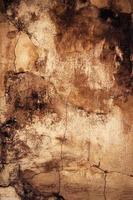 superfície áspera de gesso velho