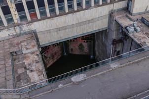 as comportas da barragem foto
