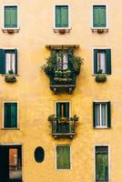 rotas turísticas das antigas ruas de veneza da itália