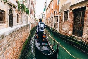 veneza, itália 2017- grande canal de veneza itália