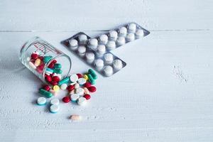 grupo de comprimidos