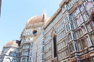 a catedral de florença, itália foto