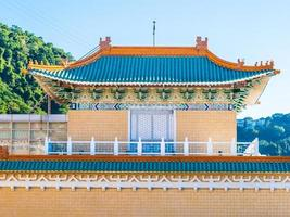 museu do palácio nacional em taipei, taiwan foto