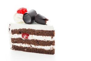 bolos da floresta negra foto