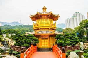 templo chi lin no jardim nan lian, hong kong, china foto