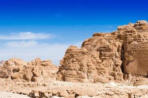 montanhas rochosas do deserto foto