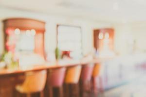 Resumo desfocar fundo do lobby do hotel - filtro vintage foto