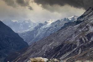 paisagens montanhosas panorâmicas do himalaia