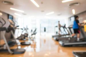 borrão abstrato ginásio e sala de fitness