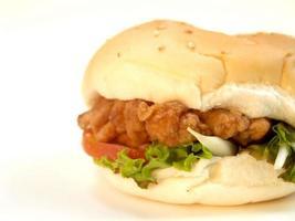 foto de comida de hambúrguer