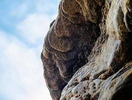 textura de pedra vulcânica foto