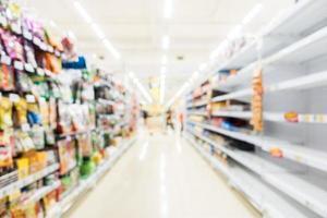 borrão abstrato supermercado e loja de varejo