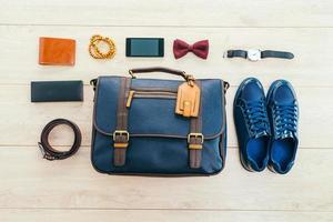 lindo conjunto de moda para homens foto