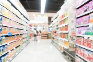 loja de departamentos abstract blur foto