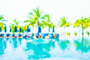 piscina borrada abstrata foto