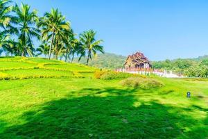 pavilhão real em Chaing Mai, Tailândia foto