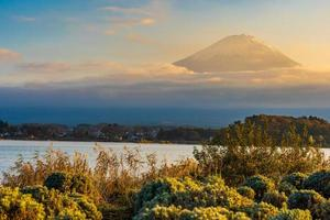 bela paisagem em mt. fuji, japão
